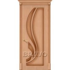 Дверь Шпон фан-лайн Лилия Ф-01 (Дуб)