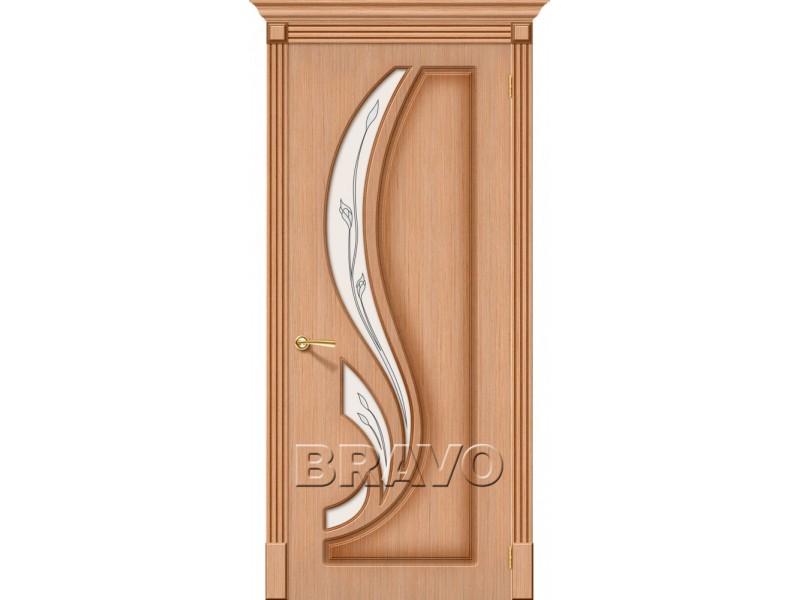 Дверь Шпон фан-лайн Лилия С Ф-01 (Дуб)