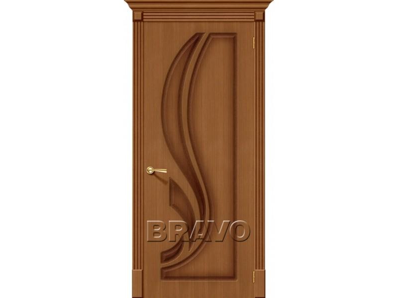 Дверь Шпон фан-лайн Лилия Ф-11 (Орех)