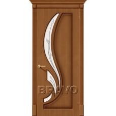 Дверь Шпон фан-лайн Лилия С Ф-11 (Орех)