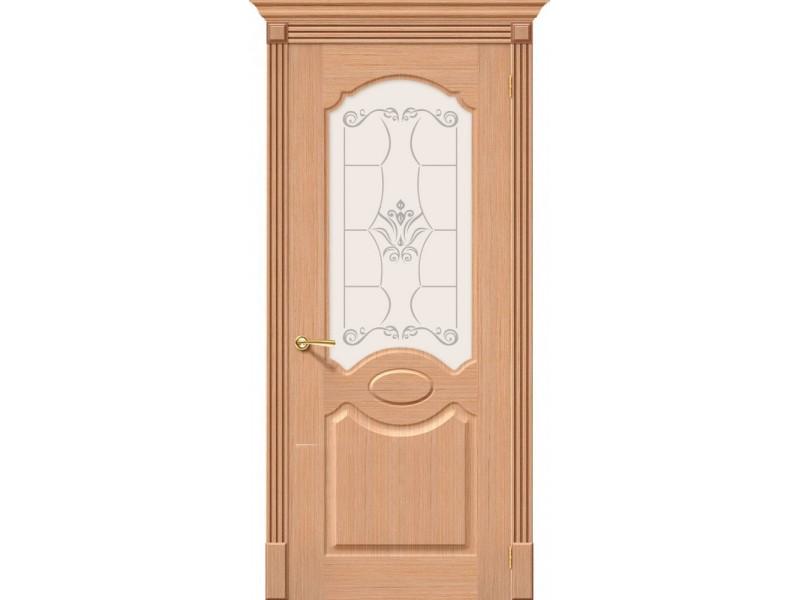 Дверь Шпон фан-лайн Селена С Ф-01 (Дуб)