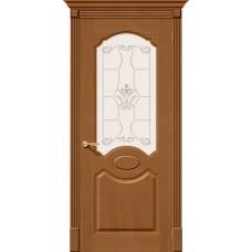 Дверь Шпон фан-лайн Селена С Ф-11(Орех)