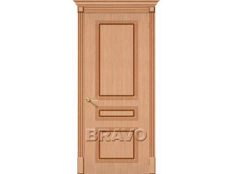 Дверь Шпон фан-лайн Стиль Ф-01 (Дуб)