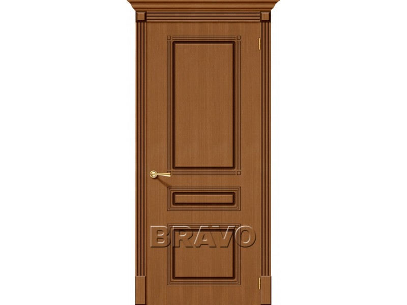 Дверь Шпон фан-лайн Стиль Ф-11 (Орех)