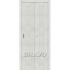Дверь Складная Порта-21 Bianco Veralinga