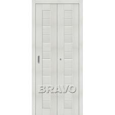 Дверь Складная  Порта-22 Bianco Veralinga