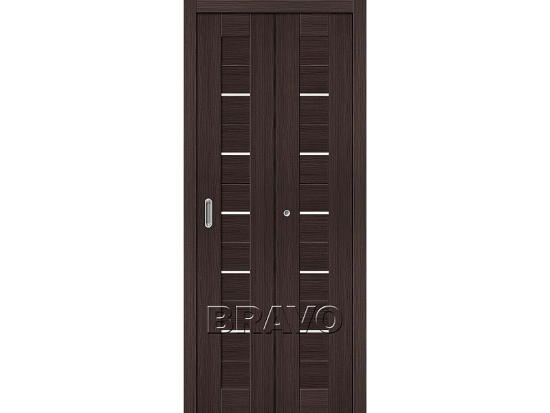 Дверь Складная Порта-22 Wenge Veralinga