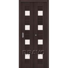 Дверь Складная Порта-23 Wenge Veralinga