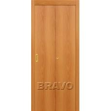 Дверь Складная Гост Л-12 (МиланОрех)