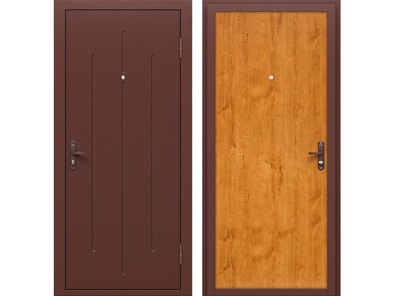 Входная дверь Стройгост 5-1 Л-17 (Золотистый Дуб)