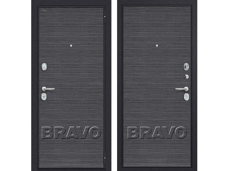Входная дверь Т3-300 Black Wood