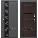 Входная дверь  Термо 222 Wenge Veralinga/Black Star