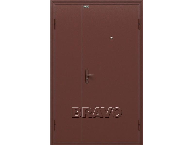 Входная дверь Дуо Слим Антик Медь