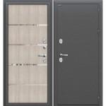 Входная дверь Термо 204 Антик Серебро/Cappuccino Veralinga