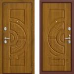 Входная дверь  GROFF P3-302  Золотой дуб