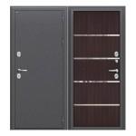 Входная дверь   Термо 204 Антик Серебро/Wenge Veralinga