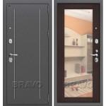 Входная дверь Т2-220_New Антик Серебро/Wenge Veralinga